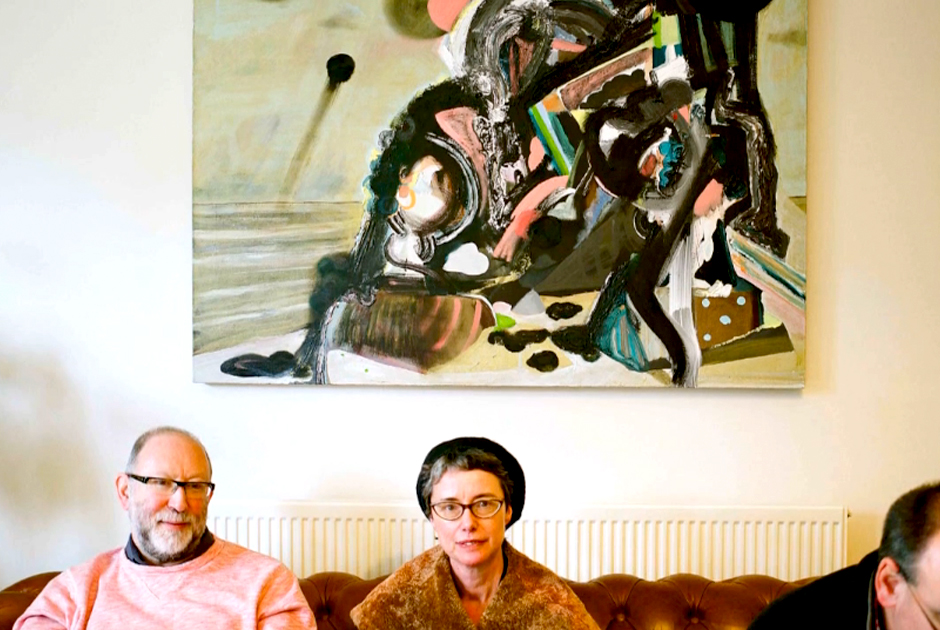 Axisweb films: Contemporary Art Society North, Art in the Home