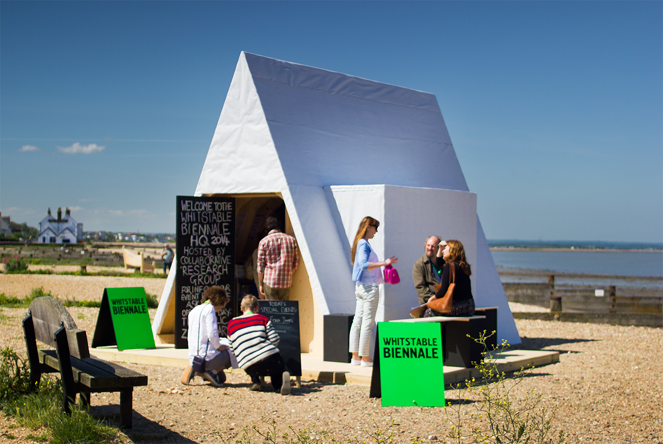 Axisweb films: Whitstable Biennale 2014