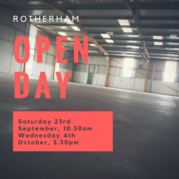 Open Day in Rotherham