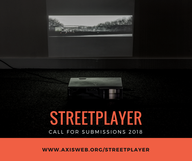 Streetplayer 2018 Call for Submissions