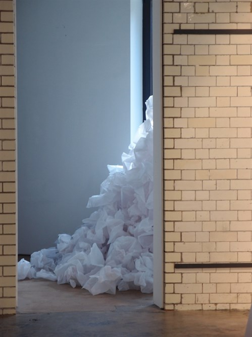 Annie Ravazzolo pile of tracing paper