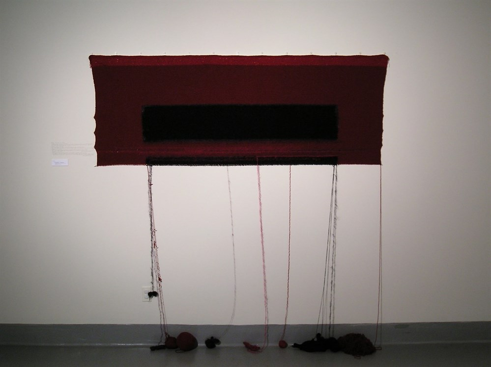 Knitting a Rothko by Rachel Gomme