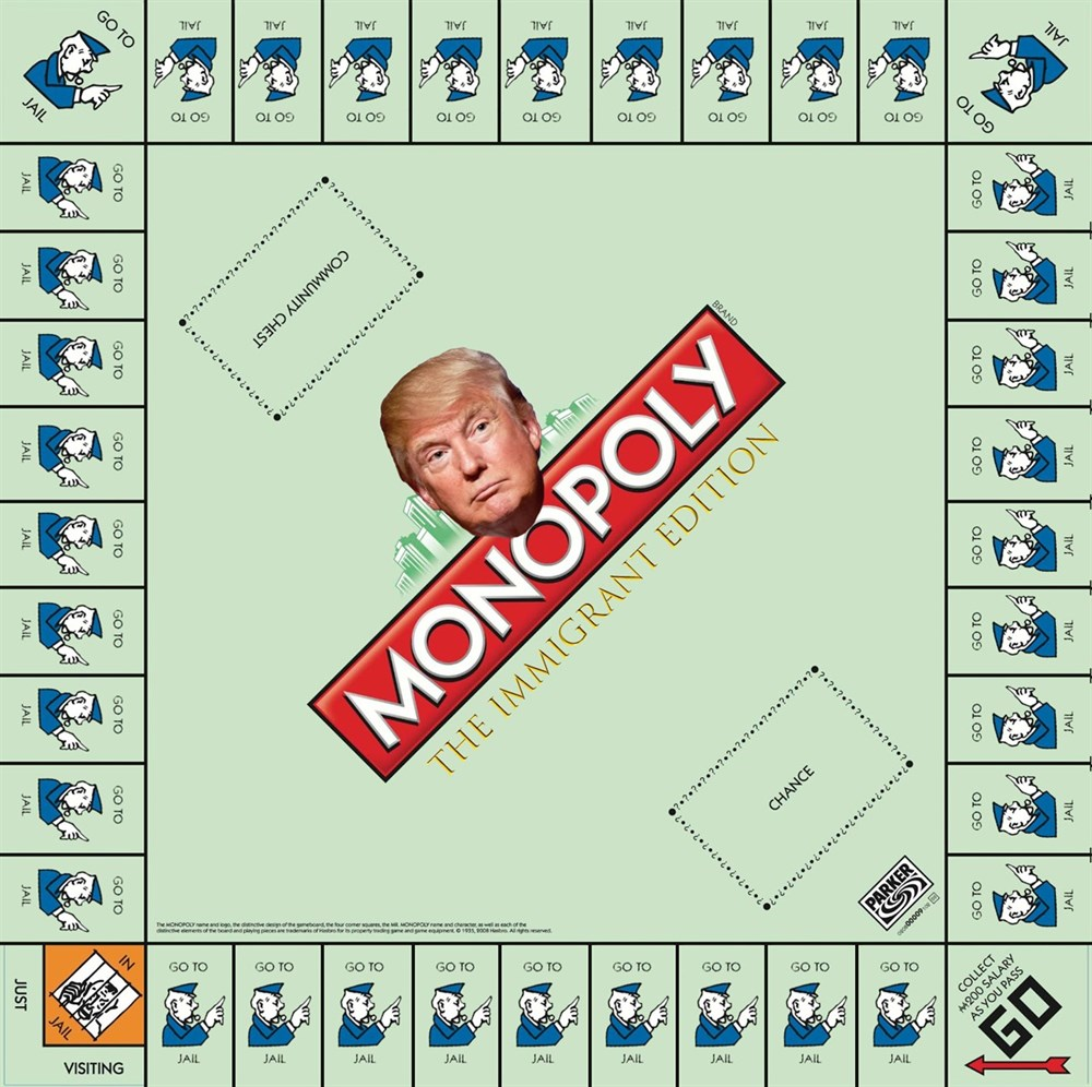 Jake Francis - Monopoly The Immigrant Edition