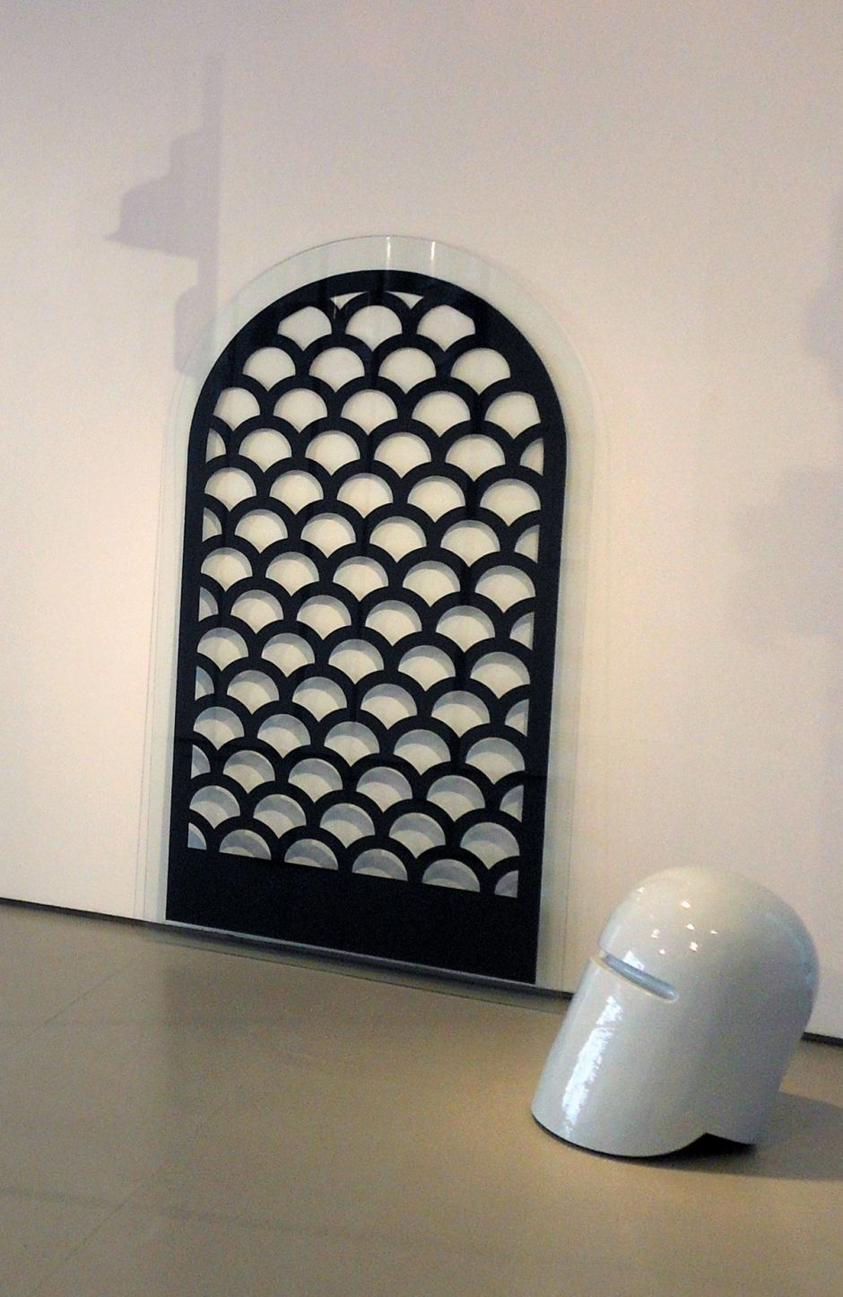 James Rigler, Ancient Gate, Helmet, 2013