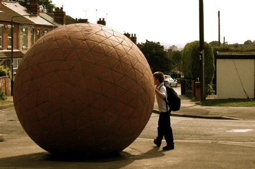 Rodney Harris Giant Brick Sphere