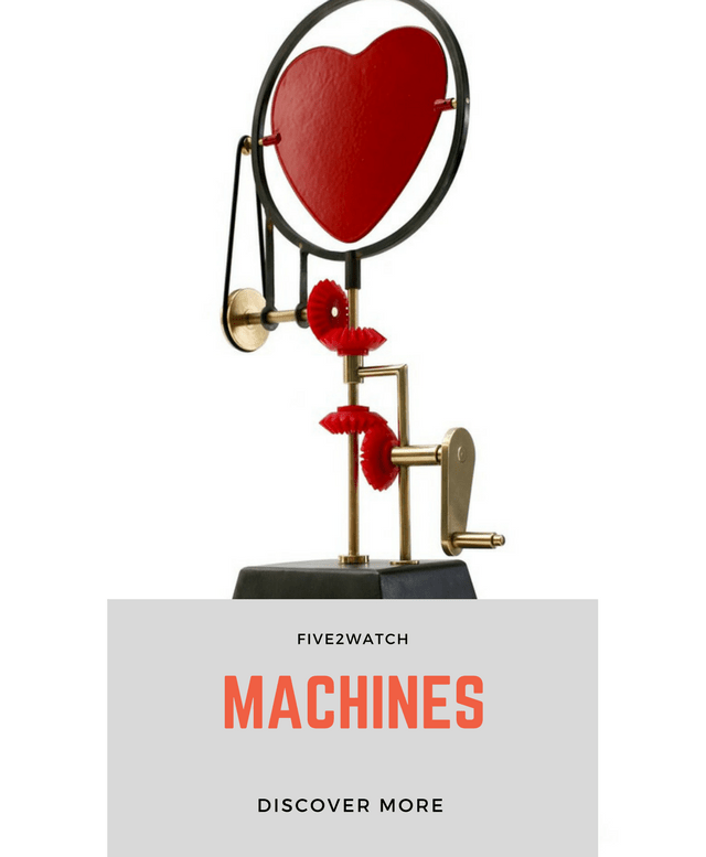 #FIVE2WATCH: MACHINES